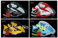 56 Colours Free Shipping Air Retro IV 4 Men's Basketball Sport Footwear Sneaker Trainers Shoes ( 1 - 20 Colours )