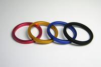 4 pcs/lots wholesale,Men's sex toys,metal cock ring,Aluminium alloy penis ring steel,male delay ring,4 colors,40mm/45mm/50mm