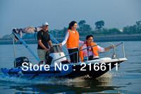 2014 Latest Thrilling Fishing Boat, Outboat Motor, Fiber Glass Boat, Sea Boat