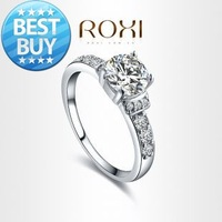 ROXI Exquisite fashhion Rings platinum plated with AAA zircon,fashion Environmental Micro-Inserted Jewelry,101011324