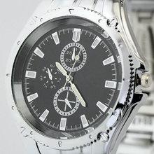 Fashion Jewelry Black Surface Quartz Wrist Watches For Men