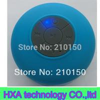24pcs Waterproof bluetooth Speaker ,Wireless splash shower tunes Car Handsfree Speaker for Iphone 4s 5 for ipad for samsung