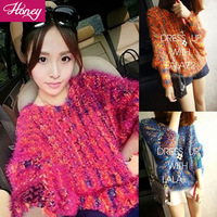 Free Shipping   Ladies Fashion Sweater Regular Pullovers  Full Sleeve  JJFS 9920