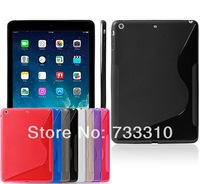 TPU matting Case Cover for Ipad5 Air, TPU Case Shell For Ipad Air 5, 8 colors 100pcs Fedex free