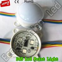 WS2801 3SMD 5050 Waterproof Led Pixel Module Led Point Source Light Full Color Led  0.72W  DC12V