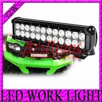 12inch 72W 9V-30V Offroad 4WD LED Light Bar , LED Work Light ATV Working light Drive Light 72W LED Bar SUV tractor driving lamp