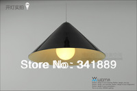 Black / White Iron Creative Droplight,Restaurant Bar E27 Pendant Lamps,High Qulity