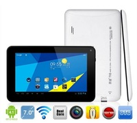 New Arrival 7'' yuandao vido T10 Tablet PC ATM7021 Dual core 1024*600px 512MB RAM+8GB ROM android 4.1/Megin