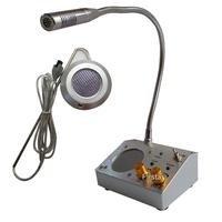 220V  Window Intercom Kit Dual-way Intercom System For Counter Intercommunication Microphone 2W/2W
