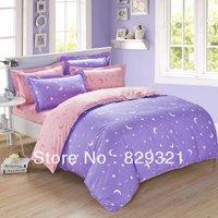 100% cotton purple and pink bedding set,blue bed set,green duvet cover,duvet cover set,bed sheet set,bedclothes,pillowcase