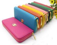 new cool fashion lady women purse long clutch wallet bags PU quality handbag gift free shipping