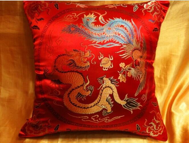 China nanjing special present Cloud brocade pillowcase The ...
