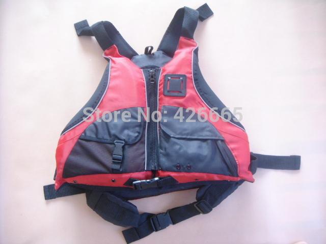 red color Kayak Life Jacket With SOLAS Standard Adult size free size marine life jacket, buoyancy aids, life jacket(China (Mainland))