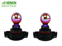 XENCN 12V 24WY SHPC A115KB PU20D-6 12272Y Rainbow Light Car Bulbs Germany Quality Fog Halogen Lamp Free Shipping 2pcs