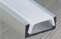 10m Free shipping, architectural counter LED housing,led bar extrusion aluminum profile for led strip light led tape light