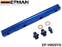 EPMAN Injector High Flow Fuel Rail For Audi VW 1.8L Turbo 20V Blue NEW EP-VW20YG