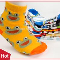 12Pairs New 2014 Best Sell Cartoon Children Socks Cotton Kids Socks For Boys Infantil Sock Meia Infantil -- SKA19 PT05 Wholesale