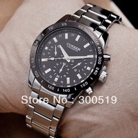 JW397 CURREN Branded Watches Big Dial Plate Men Watch  Alloy Strap Waterproof Wristwatch Business Watches