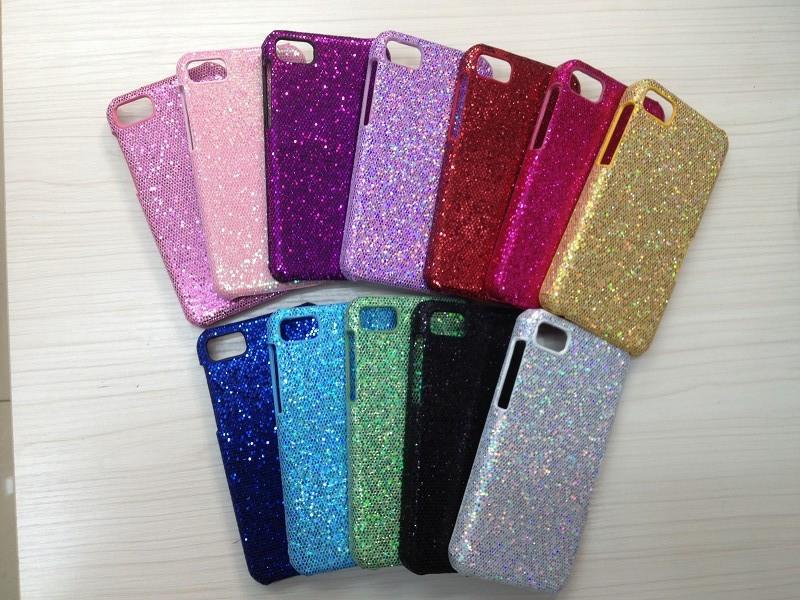 1x Brand New Glitter Bling Hard Plastic Back Case Cover For BlackBerry Z10 BB z10 Free Shipping(China (Mainland))