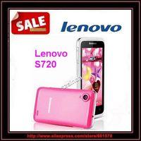 "Original Lenovo S720 4.5"" Andorid 4.0 MTK6577 Dual Core Cell Phones GPS 4GB ROM Dual Sim WCDMA White Pink Root Play store"