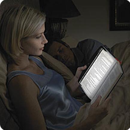 Free Shipping LED Night Book Reading Light Panel Lightwedge Paperback Book Light R002(China (Mainland))