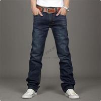 New Korean Fashion Men's Slim Fit Light Wathced Jeans Trousers Straight Leg Pants Size 30~34 Dropshipping 10