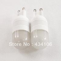 5PCS/LOT G9 3W 270lm 3500K 6-SMD 5060 LED Warm White Lights Ceramic Bulb Light 220V 240V