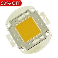 3pcs/lot 100w led chip for flood light warm white 3000k-3200k cool white 6000k-6500k 8000-9000lm high power wholesale 100 watt