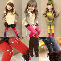 Children Autumn and winter Leggings child plus velvet thickening long trousers legging ,Kids Leggings,Children Baby Pants