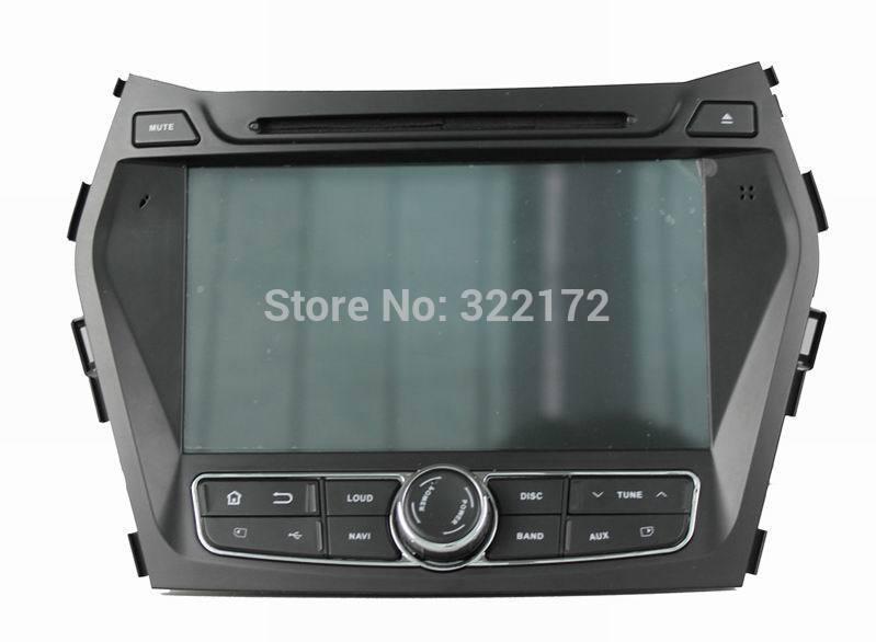 Car Radio Audio DVD Player GPS For HYUNDAI IX45 Santa Fe 2013~2014 Free Shipping(China (Mainland))
