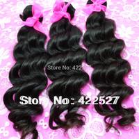 """10"""" -- 30"""" Brazilian virgin hair remy human hair  extension best top quality grade AAAAAAA natural wave mixed size 3pcs /lot"""