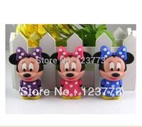 Free shipping cartoon mouse model usb flash stick pen drive 4-32GB