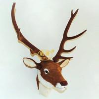Handmade animal head crafts deer wy152