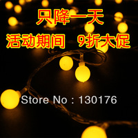 Led lights flasher lamp set ball lighting string lantern festival decoration mantianxing christmas wedding decoration