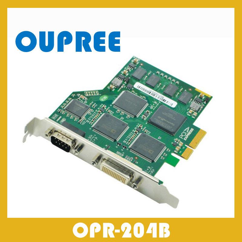 OPR-204B PCI-E x4 simultaneously grab dual HD 1080p 60fps video signals and quad AV CVBS Video(China (Mainland))