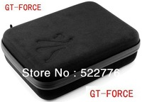 Shockproof portable case bag & Accessorie Travel Storage case for GoPro Accessoies or Camera hero 3+, 3 And 2