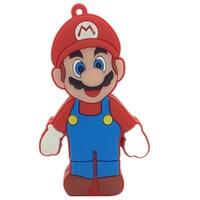 Retail character 8gb 16gb 32gb 64gb 512gb usb flash drive Memory Stick usb pen drive cartoon flash drive Super Mario