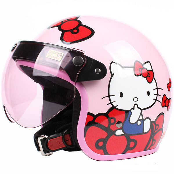 Hello Kitty Motorcycle Helmet For Adults Face Helmets,hello Kitty