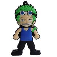 Cute One Piece Gift Cartoon model 8gb 16gb 32gb 64gb 512gb USB Pirate flash drive Memory Stick pen drive usb flash drive