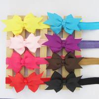 New Fashion  Baby Girl Headwear Flower Headbands Kid's  Hair Accessories BA001