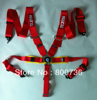 New type  FIA 2018 Homologation 3 inches/5Point SPA*RC* Racing Seat Belt RACING HARNESS