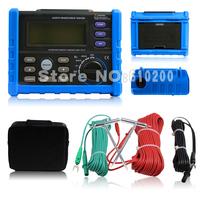 wholesale High quality Digital Earth Ground Resistance Voltage Meter Tester Resistance meter 1k-4k 0V-200V Instead MS2302