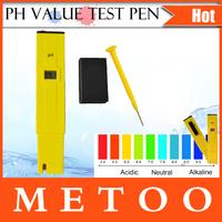 PH Pocket Pen Meter PH Meter Digital Tester PH-009 Pen PH Value Test Pen PH Tester 1Pcs/Lot DropShipping