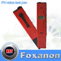 PH Meter  PH Pen  Value Test Pen  Tester Whit ATC  0.01-14.00 with Automatic temperature compensation TDS 1Pcs/Lot
