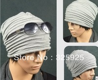 New Heat Pin Hat the autumn / winter wool knitted cap Unisex pile cap spot wholesale