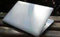 Free shipping 13.3 inch ultrabook Aluminium gaming notebook laptop computer intel celeron 1037U windows 8/7 2GB 128GB SSD camera