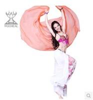 Gradient Color Faux Silk Scarf Belly Dance,2.1 * 1.1 m 9 Colors TP 27