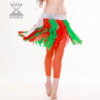 New 2014 Milk Silk Linen Diamonds Sequins Belly Dance Waist Chain, Belly Dance Tassel Belt ,5 Colours TP110