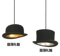 Hot Sale Fedoras Pendant Lamps Round Flat Restaurant Pendant Light Bar Pendent Light Aisle Lights Free Shipping