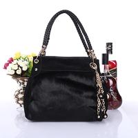 Designer Handbag High Quality Bags Women 2013 Fashion Genuine Leather Brand Handbag Tassel Horsehair Cowhide Messenger Bag57
